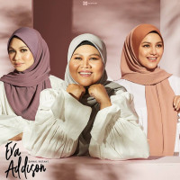 Hanami Bawal Eva Addison Pleats (Plain)