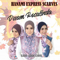 Hanami Express Scarves Dream Rosalinda
