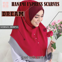 Hanami Express Scarves Dream Seroja Irdina