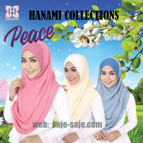 Hanami Instant Shawl Peace Collection
