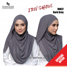 Hanami Long Shawl IRIN - Dark Grey