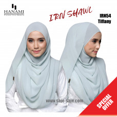 Hanami Long Shawl IRIN - Tiffany