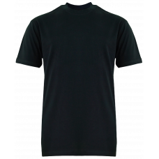 T-Shirt Cotton Round Neck Short Sleeve - Black