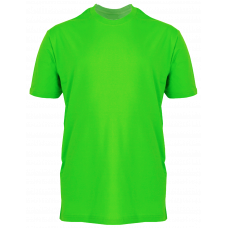 T-Shirt Cotton Round Neck Short Sleeve - Green Apple