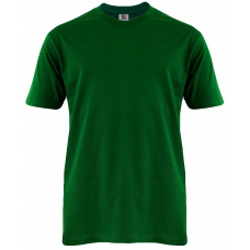T-Shirt Cotton Round Neck Short Sleeve - Green Bottle