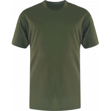 T-Shirt Cotton Round Neck Short Sleeve - Khaki
