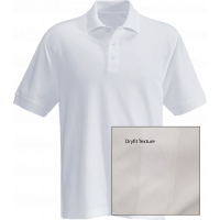 T-Shirt Polo Short Sleeve - Dryfit White