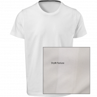 T-Shirt Dryfit Round Neck Short Sleeve - White