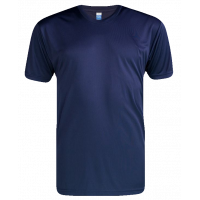 T-Shirt Microfiber Round Neck Short Sleeve - Blue Navy