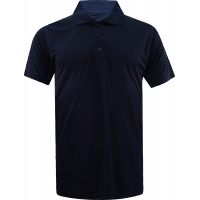 T-Shirt Polo Short Sleeve - Microfiber Blue Navy